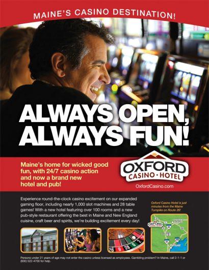 Maine Auto Mall >> Oxford Casino Hotel – CD & M Communications