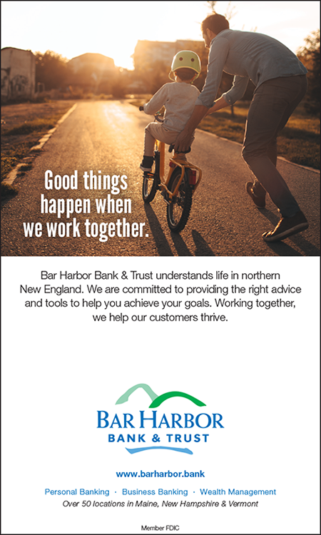 Bar Harbor Bank & Trust brand ad